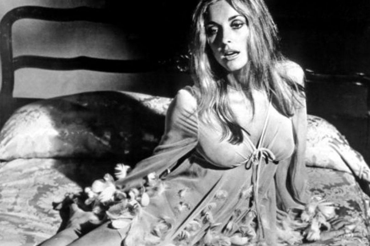 """El 8 de agosto de 1969, dos semanas antes de dar a luz, cenaba con unos amigos en su casa. Entonces los """"hijos"""" de Charles Manson entraron a su casa. Foto:vía Getty Images. Imagen Por:"""