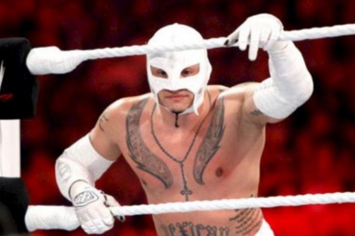 8. Rey Mysterio. El 25 de julio de 2011 ganó un torneo por el título, pero esa misma noche perdió con John Cena Foto:WWE. Imagen Por: