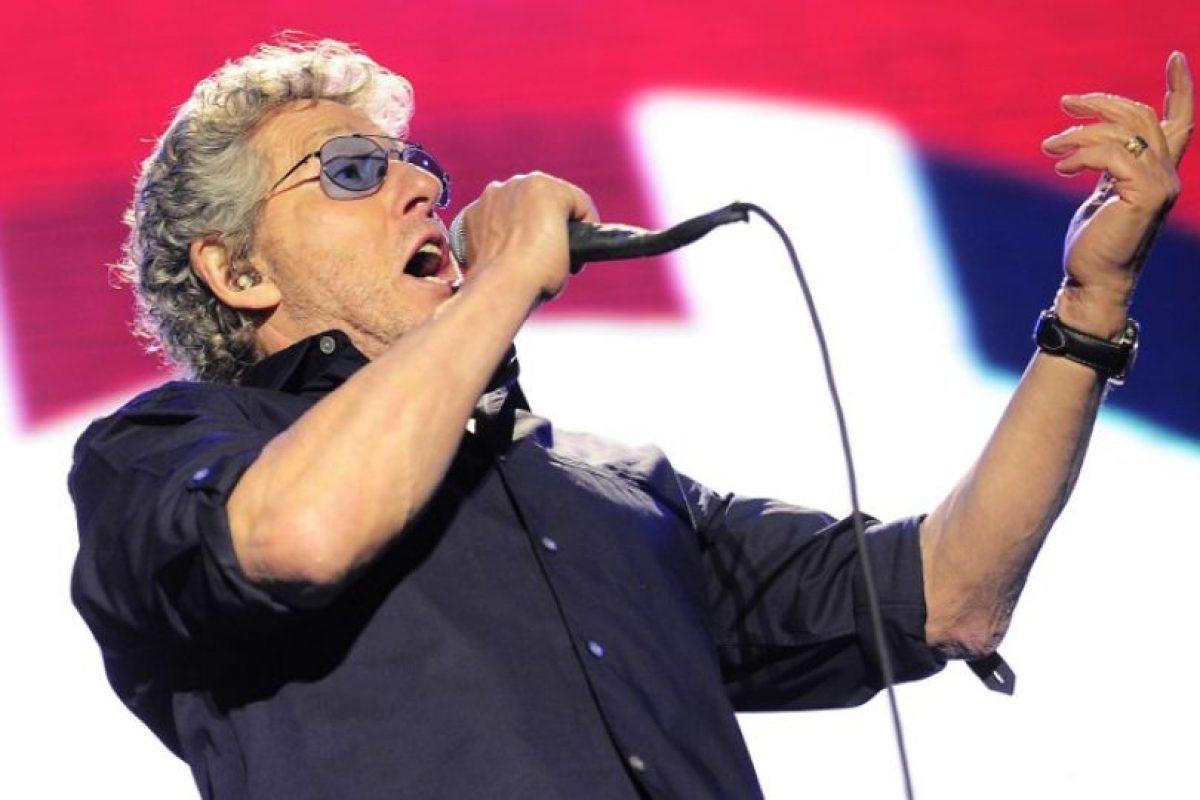 """A FAVOR.El músico Roger Daltrey, de The Who""""Si huele a rata y parece una rata, seguramente sea una rata. Y, afrontémoslo, Europa huele"""", afirmó. Foto:AFP. Imagen Por:"""