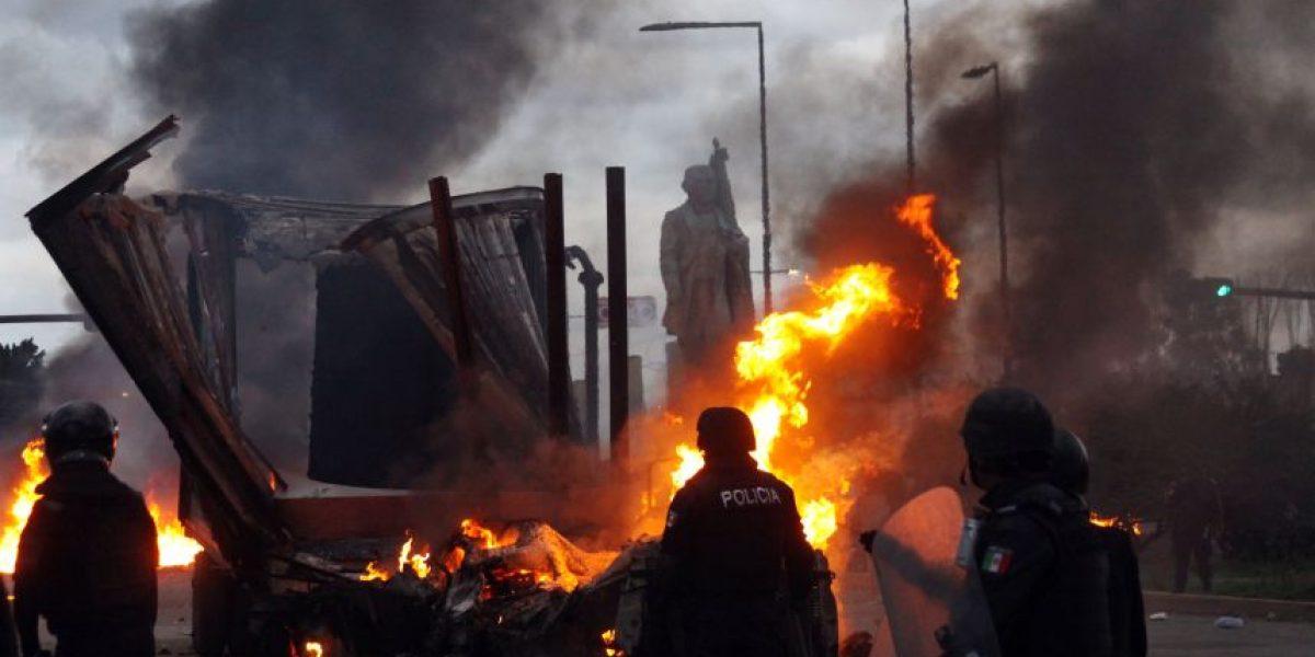 Aumentan a 10 los muertos por choque entre profesores y policías en México