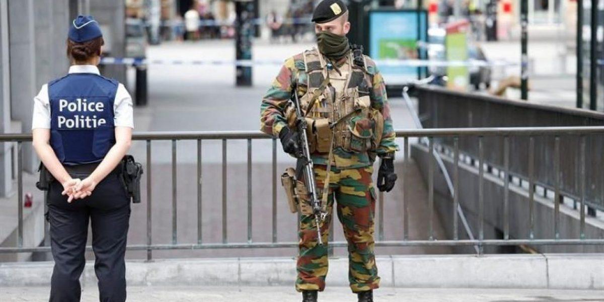 Un hombre con un falso cinturón de explosivos pone a Bruselas en estado de alerta