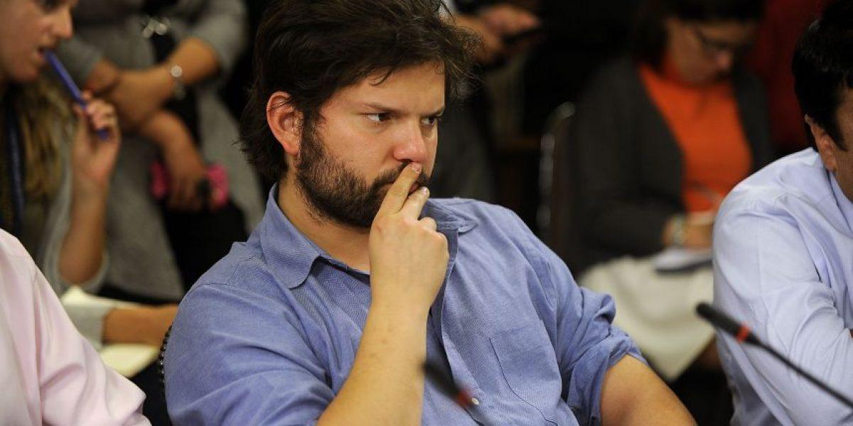 Gabriel Boric respaldó a la Confech en su polémica con Karol Cariola