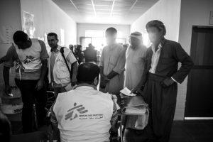 MSF ha estado gestionando clínicas móviles en la zona durante más de un año. Cuando el campo se abrió en septiembre de 2015, el equipo médico comenzó a trabajar en el centro de salud de Debaga, donde se proporcionaba atención primaria, con especial dedicación a madres y niños, a las enfermedades crónicas y a los servicios de salud mental. En los últimos cuatro meses, se llevaron a cabo más de 4.500 consultas. Las morbilidades más frecuentes fueron las infecciones del tracto urinario y las enfermedades de la piel. Foto:Manu Brabo/MEMO. Imagen Por: