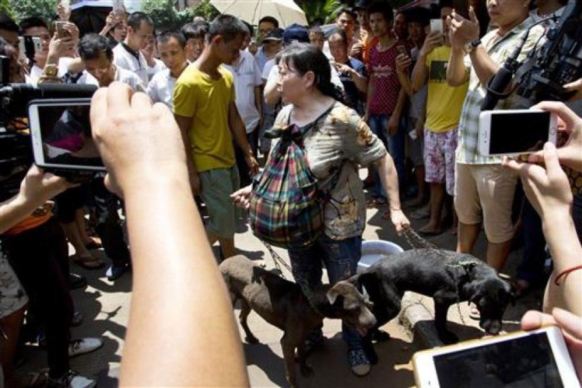 """Los activistas piden terminar con esta práctica """"bárbara y cruel"""" Foto:AP. Imagen Por:"""