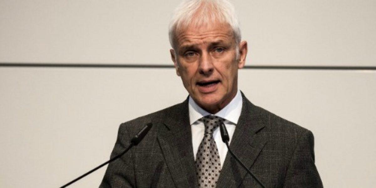 Presidente de Volkswagen cuestiona el futuro de la tecnología diesel