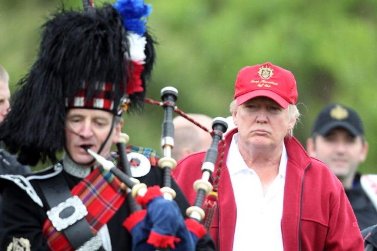 Trump visitará Escocia este fin de semana Foto:Getty Images. Imagen Por: