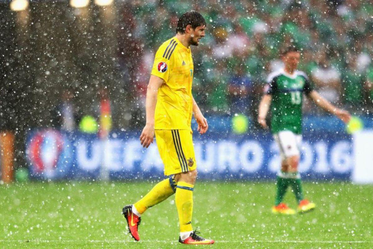 Los ucranianos han tenido una paupérrima presentación y cayeron por 1 a 0 ante Polonia y 2 a 0 frente a Irlanda del Norte, por lo que terminarán de cualquier forma en el último lugar de su zona Foto:Getty Images. Imagen Por: