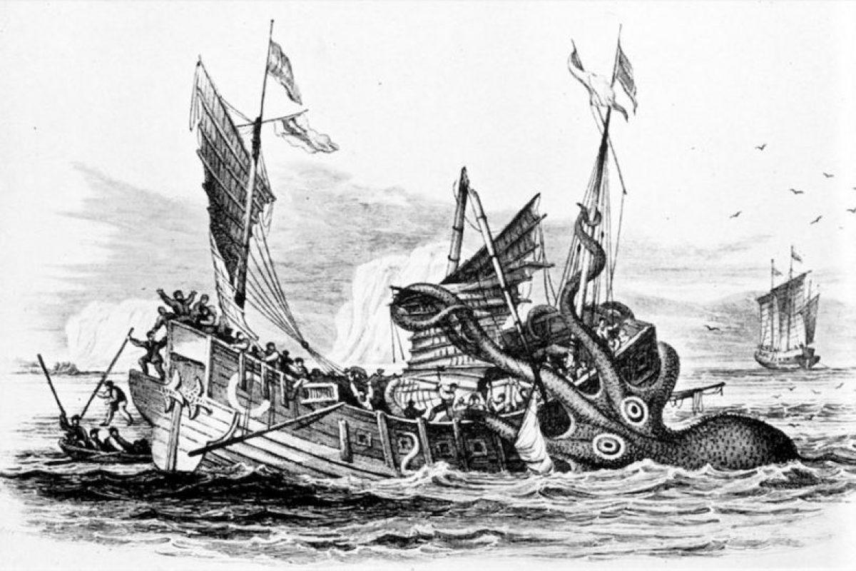 Kraken es uno delos monstruos mitológicos más temidos. Foto:Reproducción Wikipedia. Imagen Por: