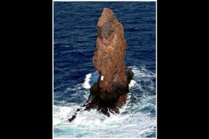 Pero resultó ser una roca llamada Sail Rock, ubicada al norte de la Antártida continental, al suroeste de la isla Decepción. Foto:http://www.southernfriedscience.com/. Imagen Por: