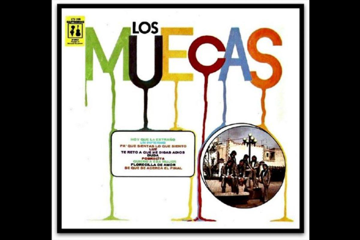 Los Muecas fue un grupo mexicano de baladas y bolero, originarios de Mexicali, Baja California. Foto:Reproducción Colectivopericu.net. Imagen Por:
