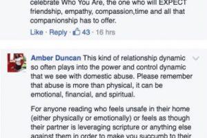 Estos son algunos de los comentarios hechos por hombres y mujeres. Foto:Facebook. Imagen Por: