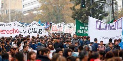 Vecinos del Parque Forestal esperarán con carteles a estudiantes en marcha de este jueves