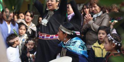 Jardines infantiles de la Junji celebraron el Año Nuevo de los Pueblos Originarios