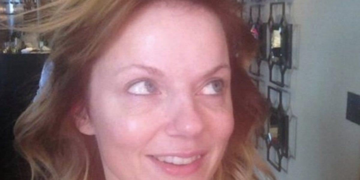 Fotos: No reconocerán a esta Spice Girl sin maquillaje
