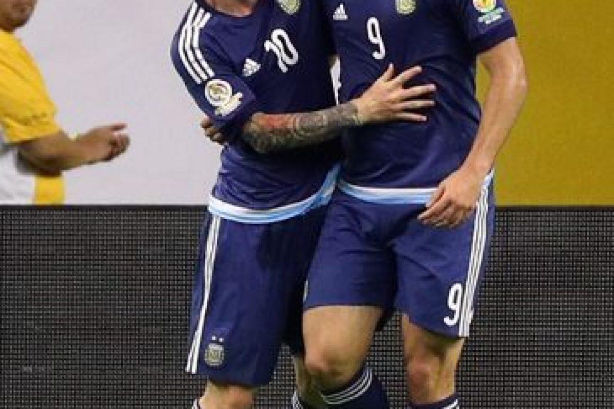 Argentina venció 4-0 a Estados Unidos Foto:Getty Images. Imagen Por: