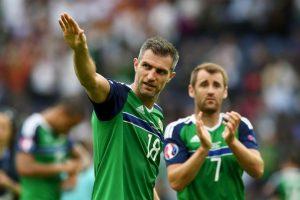 Irlanda del Norte sorprendió en su debut y quedó tercero de su grupo Foto:Getty Images. Imagen Por: