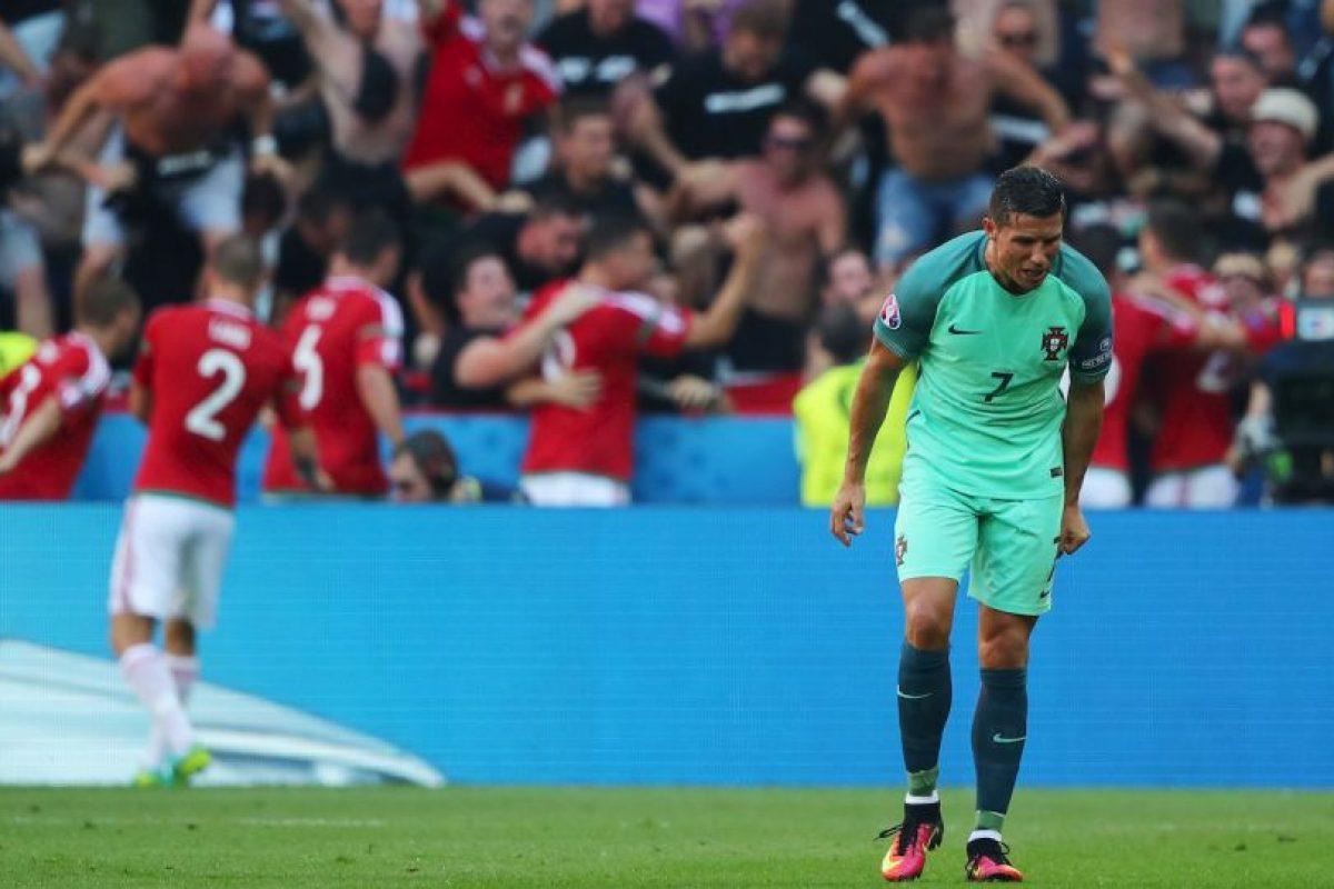 El luso poco había hecho en los empates ante Islandia y Austria y sumó las críticas de la prensa portuguesa Foto:Getty Images. Imagen Por: