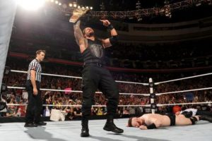 Y peligra su participación en el próximo Battleground Foto:WWE. Imagen Por: