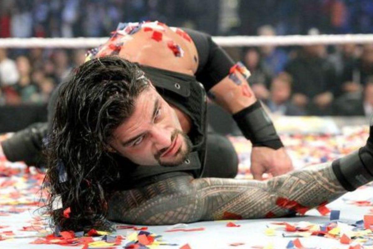 Roman Reigns fue suspendido 30 días por la WWE Foto:WWE. Imagen Por: