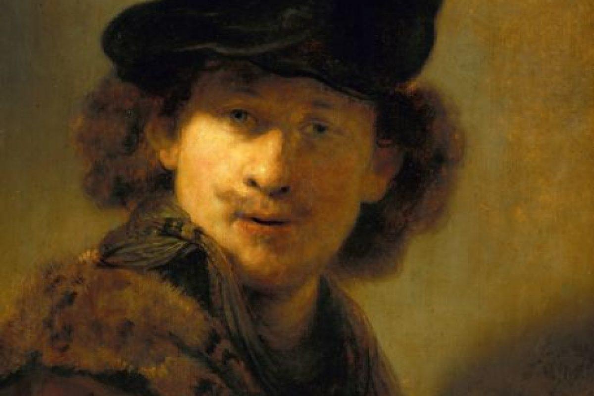 Rembrandt, en el siglo XVII. Foto:Wikipedia. Imagen Por: