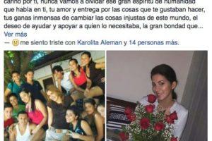 Amigos también le dijeron adiós… Foto:Facebook Yumara Ló. Imagen Por: