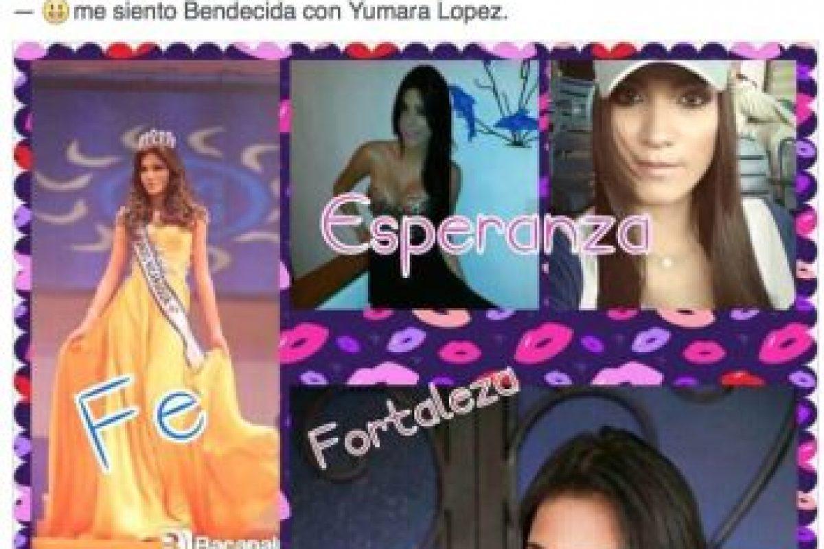 Así le apoyaban antes de su deceso Foto:Facebook Yumara Ló. Imagen Por:
