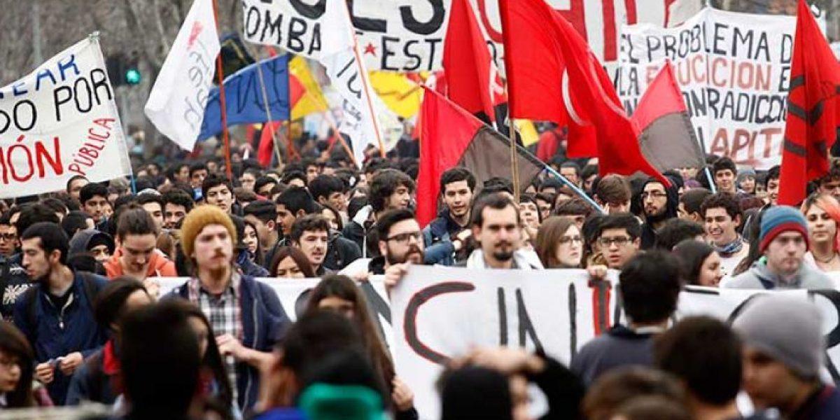 Estos son los desvíos de tránsito por el nuevo recorrido de la marcha estudiantil