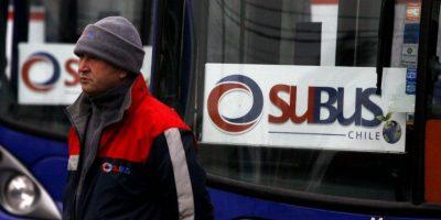 Transantiago: Justicia inicia proceso de quiebra de Subus