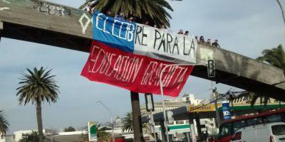 Así se desarrolla la marcha estudiantil en las ciudades del país