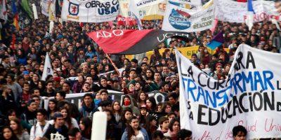 """Confech tras marcha: """"Nuestro interés es poder volver a hablar de educación"""