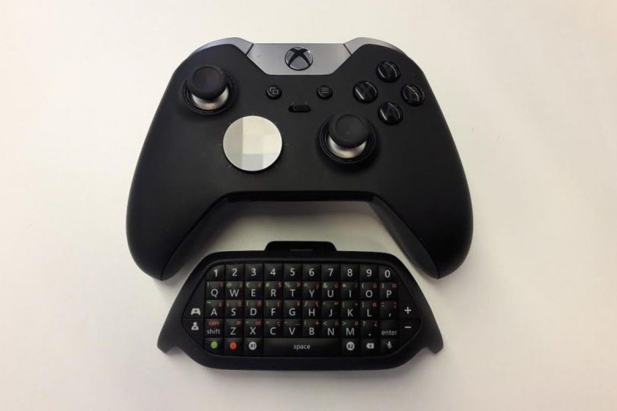 "El control elite + chatpad. Foto:""Quantum Break"". Imagen Por:"