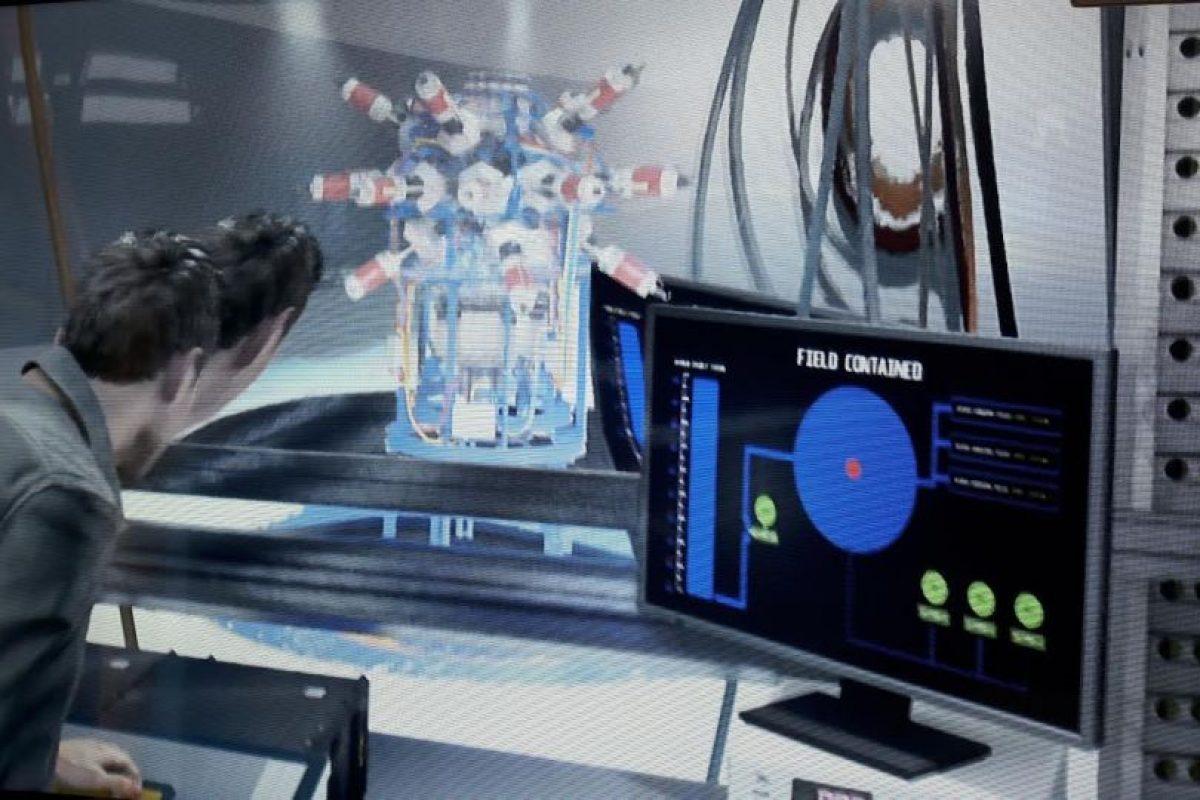 """Captura de pantalla de """"Quantum Break"""".. Imagen Por:"""