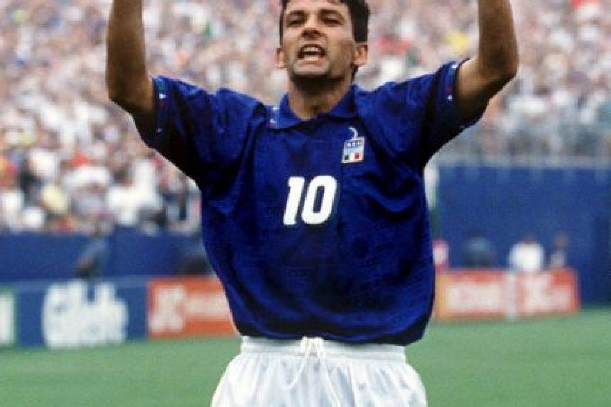 Roberto Baggio (Italia) Foto:Getty Images. Imagen Por: