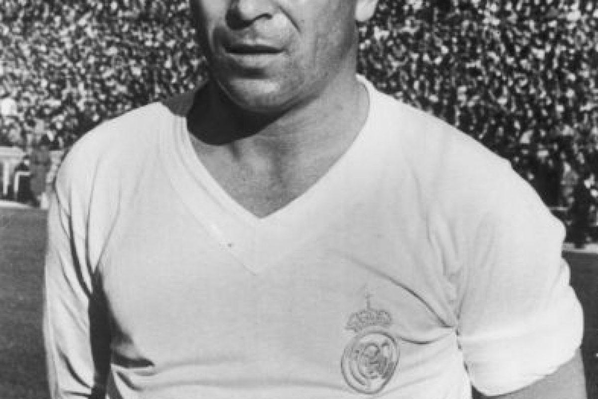 Ferenc Puskas (Hungría y España) Foto:Getty Images. Imagen Por: