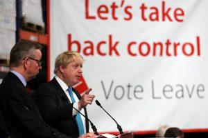 """También hubo eventos de los principales promotores del """"Brexit"""" Foto:Getty Images. Imagen Por:"""