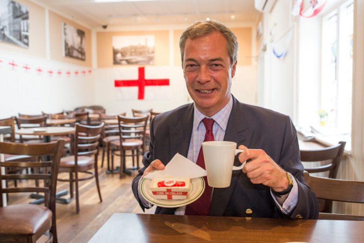 Entre ellos los líderes del partido UKIP Foto:Getty Images. Imagen Por: