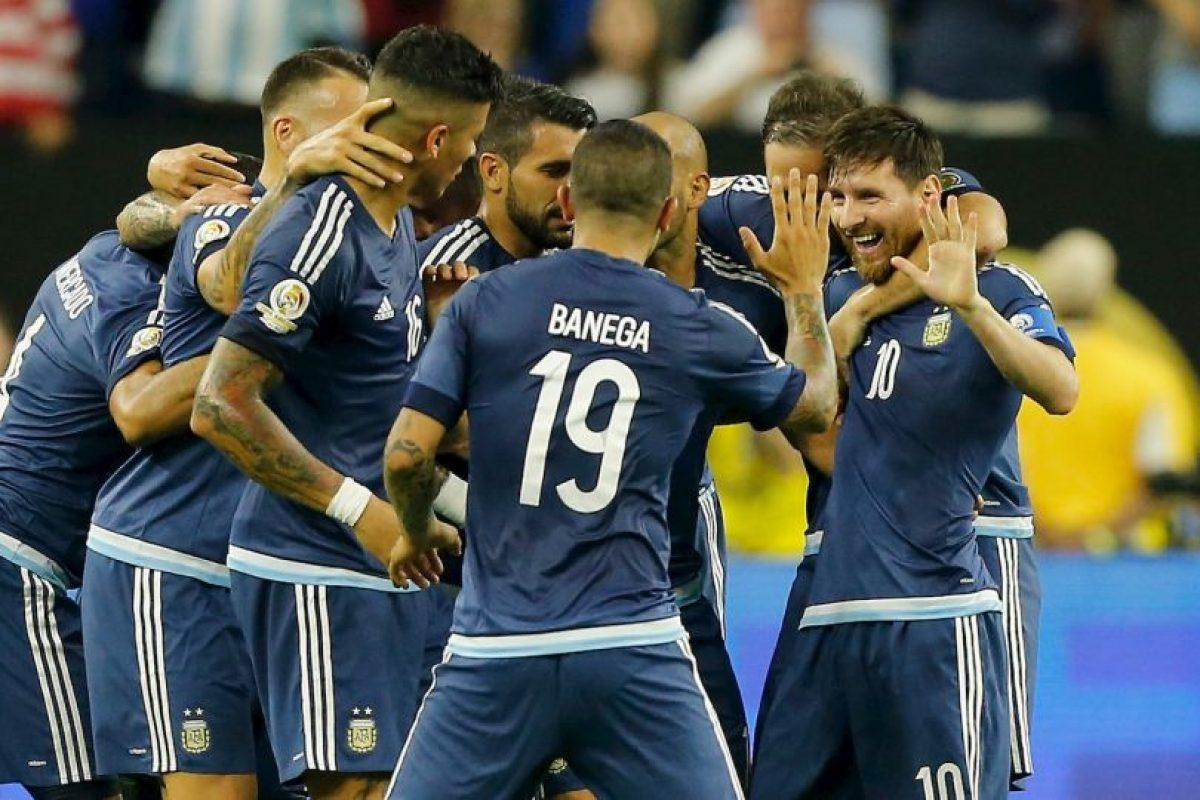 Argentina venció cómodamente a Estados Unidos en la semifinal y ahora va por el título de la Copa América Centenari Foto:Getty Images. Imagen Por: