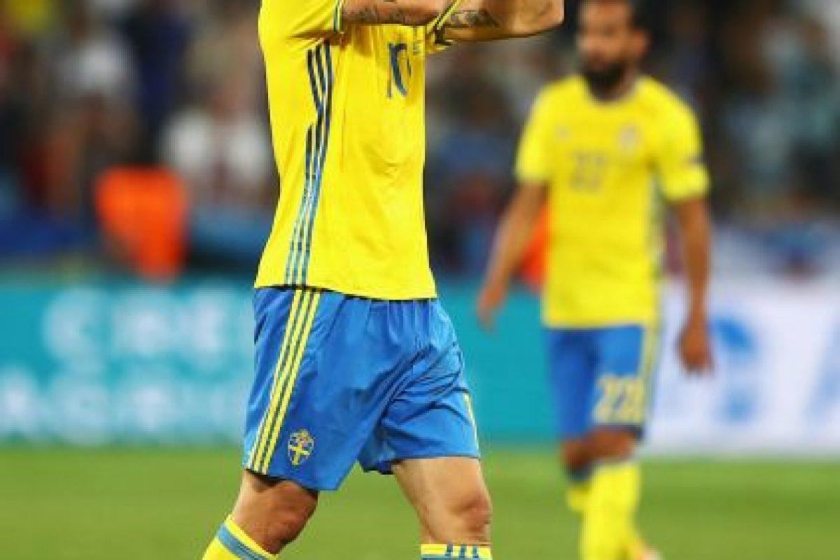 Zlatan Ibrahimovic (Suecia) Foto:Getty Images. Imagen Por: