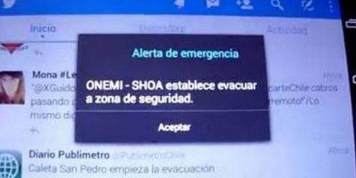Sistema de alerta de emergencias será obligatorio en todos los celulares desde 2017