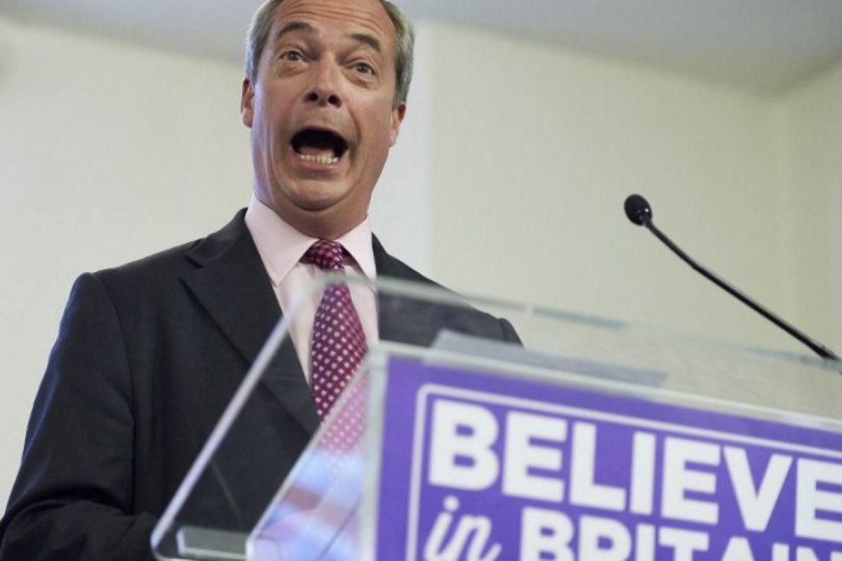 Entre los principales promotores están Nigel Farage, líder del partido UKIP Foto:AFP. Imagen Por:
