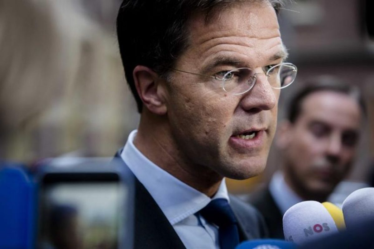 El primer ministro holandés, Mark Rutte. Foto:EFE. Imagen Por: