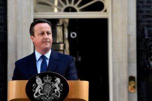 El primer ministro británico, David Cameron. Foto:EFE. Imagen Por: