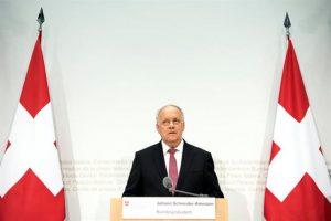 El presidente de Suiza, Johann Schneider-Ammann. Foto:EFE. Imagen Por: