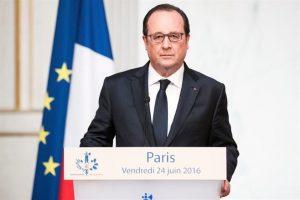 El presidente francés, François Hollande. Foto:EFE. Imagen Por: