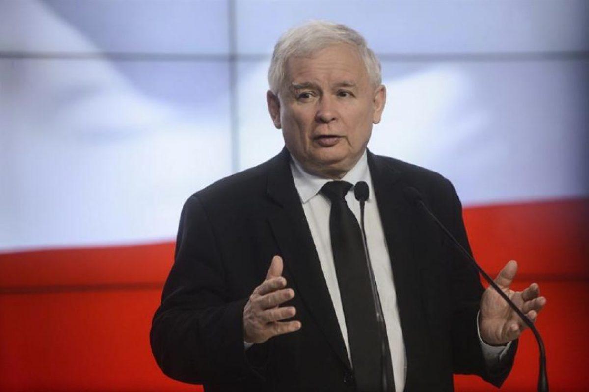 El líder del partido gubernamental polaco, Jaroslaw Kaczynski. Foto:EFE. Imagen Por: