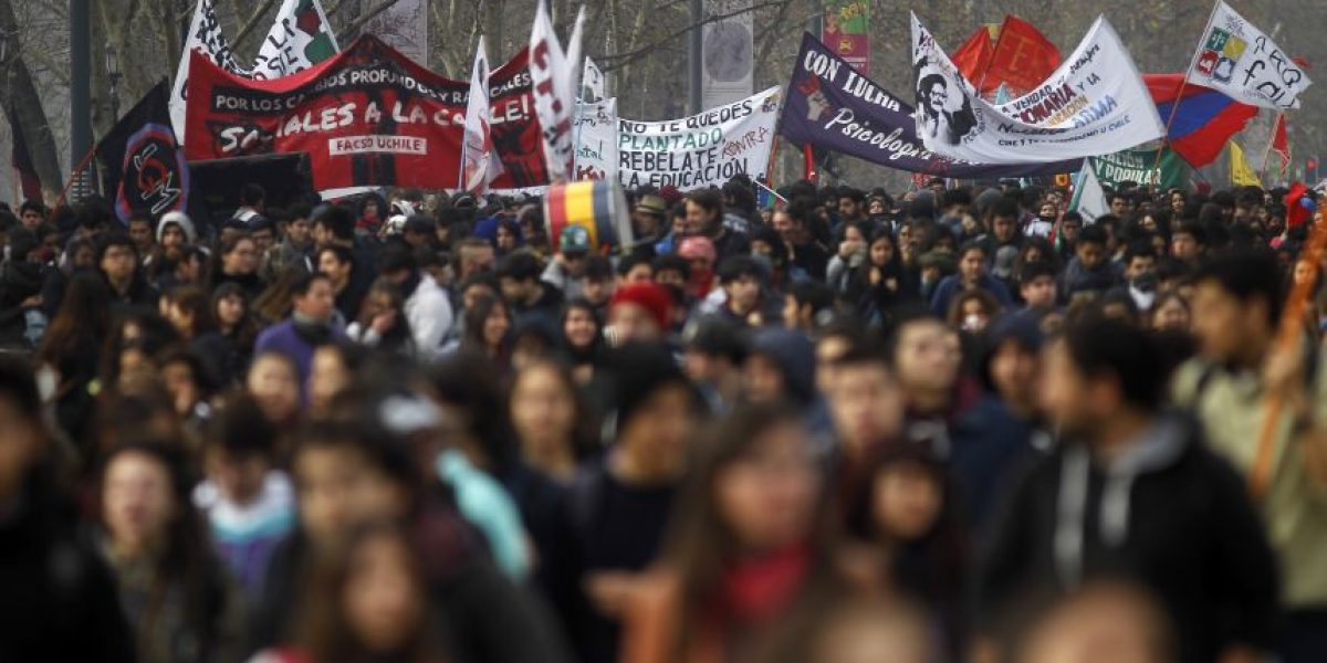 Balance municipal tras marcha estudiantil en Santiago: