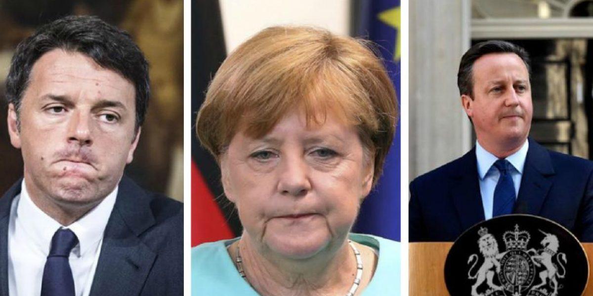 Las dos caras del Brexit: así reaccionó Europa tras referendo en Gran Bretaña