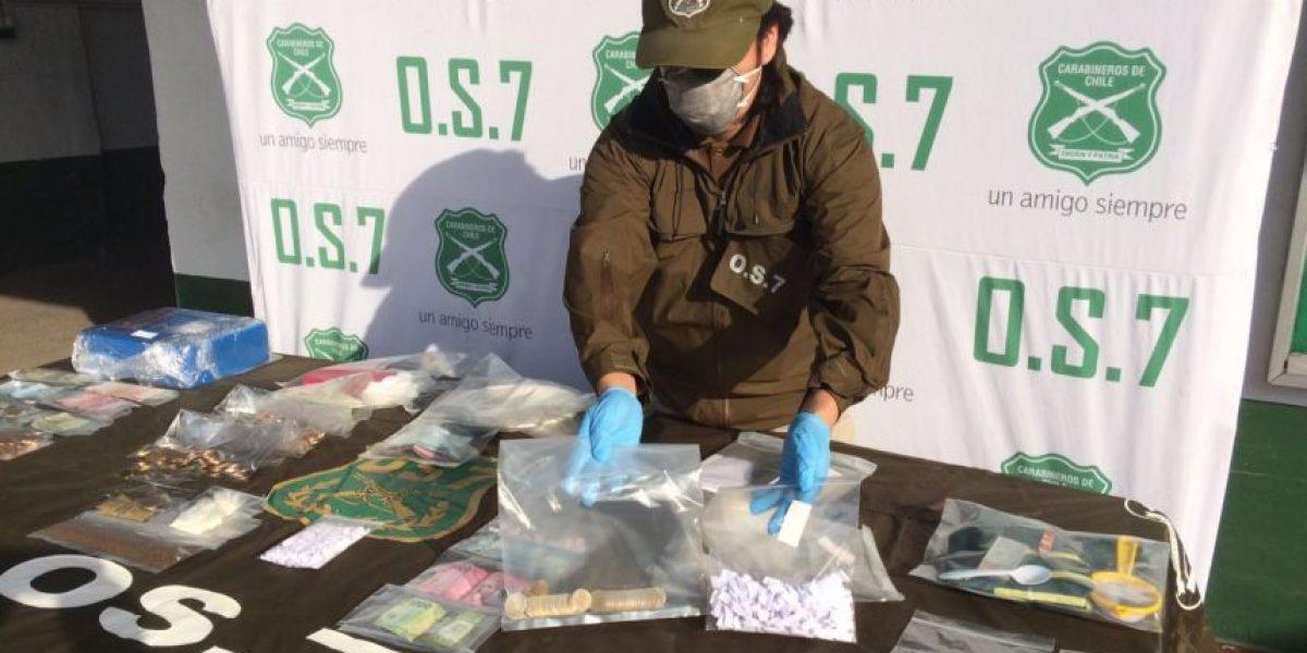 Ocupaban cinco pisos: OS7 detiene a narcos que se tomaron edificio para traficar droga