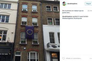 Y documentaron quienes sí quieren permanecer en la Unión Europea Foto:Instagram. Imagen Por: