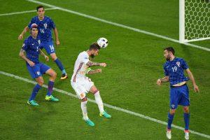 Los goles de cabeza fueron los más repetidos en la fase de grupos Foto:Getty Images. Imagen Por: